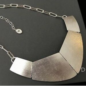 Silpada Brushed Sterling Saturday Knight Necklace